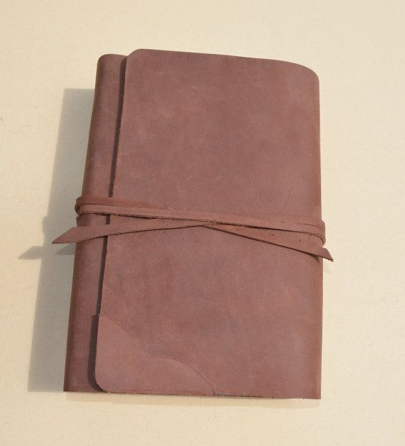 Custom Leather Bible Cover Rebind with Pocket Gift for