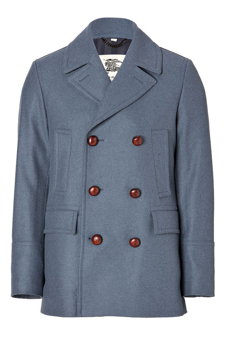 Burberry Bateson Peacoat in Airforce Blue