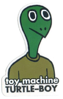 machine turtle boy