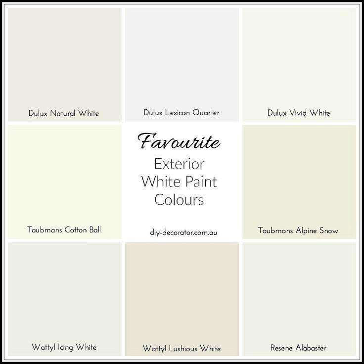 Exterior white paint colors australia home painting - Best white paint for exterior image ...
