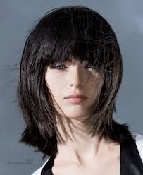 Long A Line Haircut With Bangs Long A Line Haircut With Bangs Popular Long Hairstyle Idea