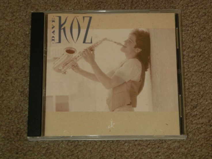 Dave Koz by DAVE KOZ (CD, Music, Jazz, Easy Listening, Instrument, Saxophone) #Saxophone
