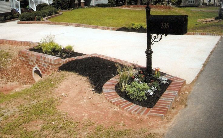 Mailbox Landscape Ideas With Culvert Google Search The 400 x 300