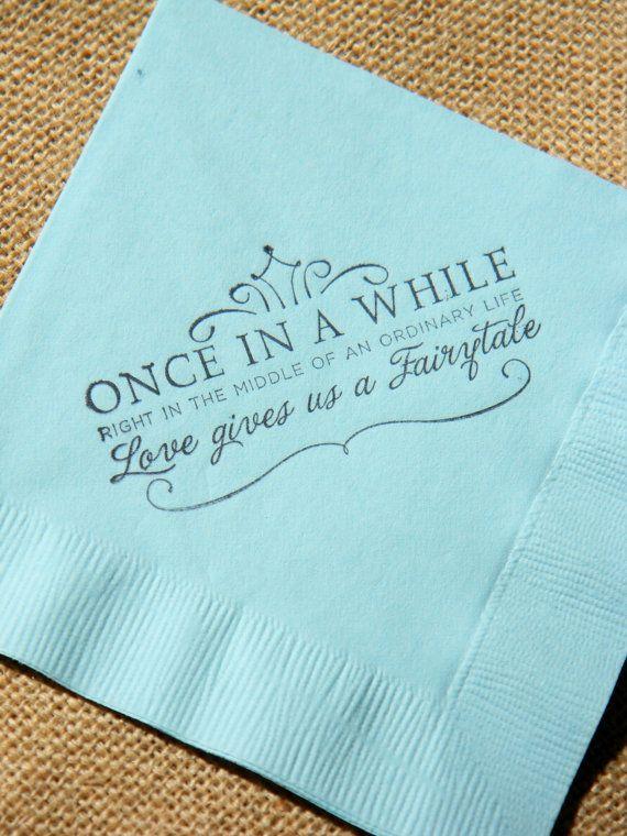 Fairytale Love Light Blue Paper Wedding by CharlestonCharms