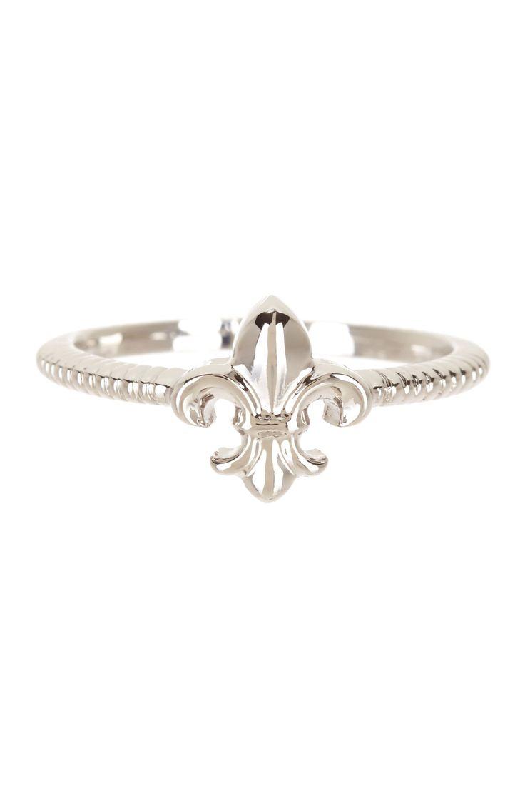 Dainty Fleur-de-Lis Ring