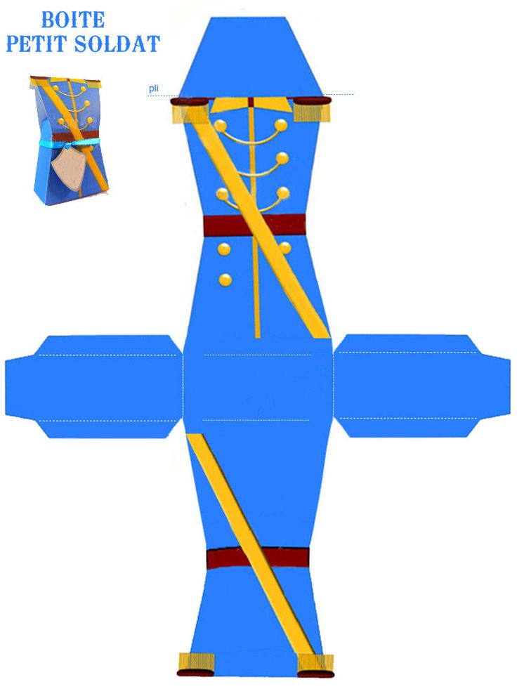 Soldier Box would work as a prince for a royal party favor.