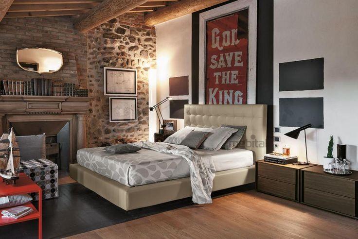 FEEL Мягкая кровать Tomasella   Mebital