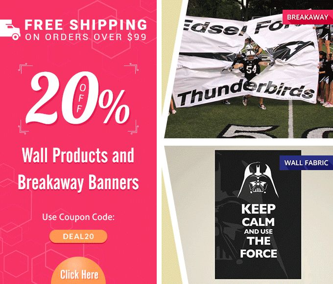 Banners com coupon code