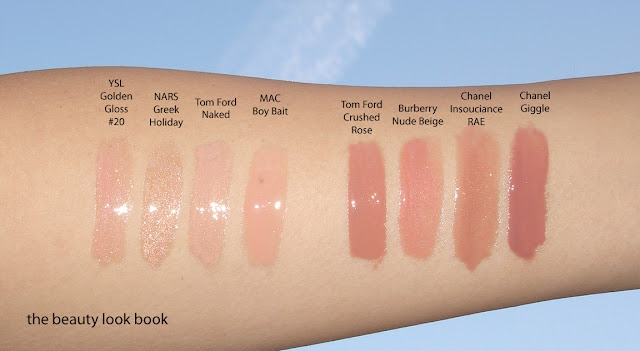 Nude lips - i could have used this last night when i was deciding which nude brand and color to buy from sephora.  oh well!