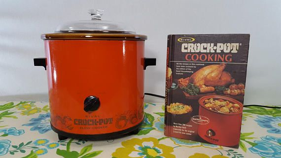 Hey, I found this really awesome Etsy listing at https://www.etsy.com/listing/548094844/like-new-vintage-red-rival-crock-pot