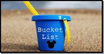 "Disney World ""Bucket List"". 25 things to do at Disney before you die! -- We've only done 5 of these and the one that was the most fun was when my husband was ""that guy"" at Monsters Inc. Laugh Floor!  And unfortunately #10 is no longer possible -- but the rest are so much fun!"