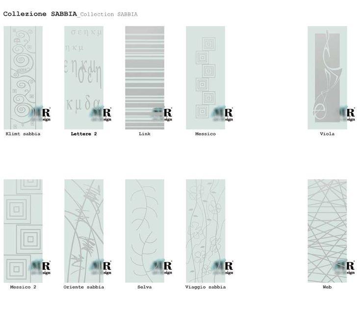 Collezione SABBIA_SABBIA Collection di #MRartdesign