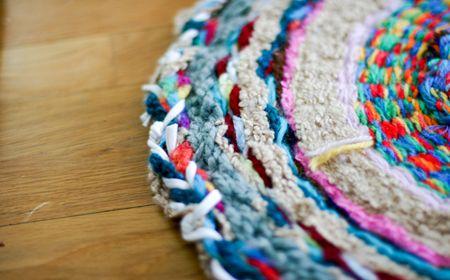 Cómo hacer una alfombra