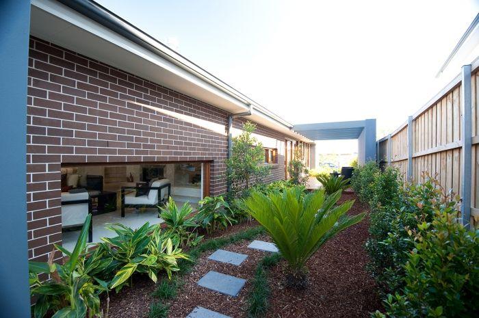 Trevelle Homes outdoor garden area