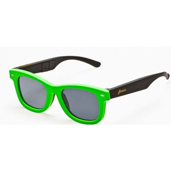 #Okulary ze sterowanym zaciemnieniem:: przeciwsłoneczne z polaryzacją #Glassini Bali Green/Black
