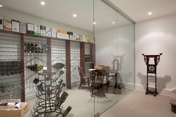 An impressive cellar adding value to family luxury