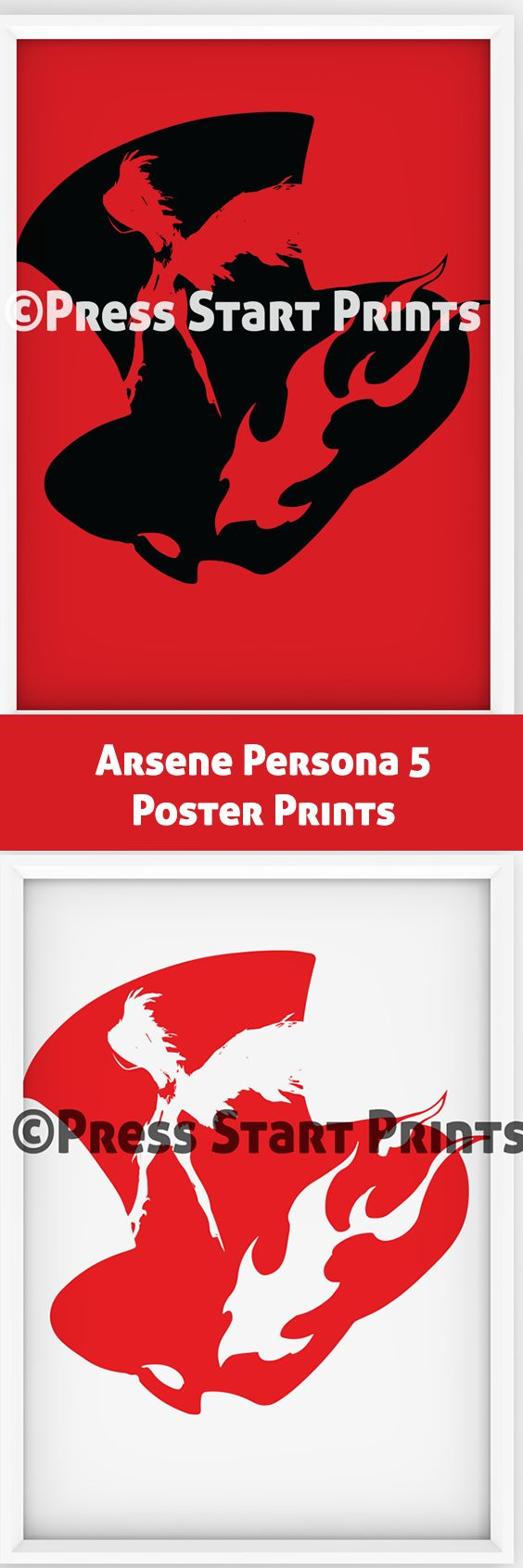 Poster Prints of Joker's Persona Arsene from Persona 5. Set of two that can be instantly downloaded and printed off as a gift or to decorate any space. Check it out at https://www.etsy.com/nz/listing/509551968/jokers-persona-arsene-from-persona-5?