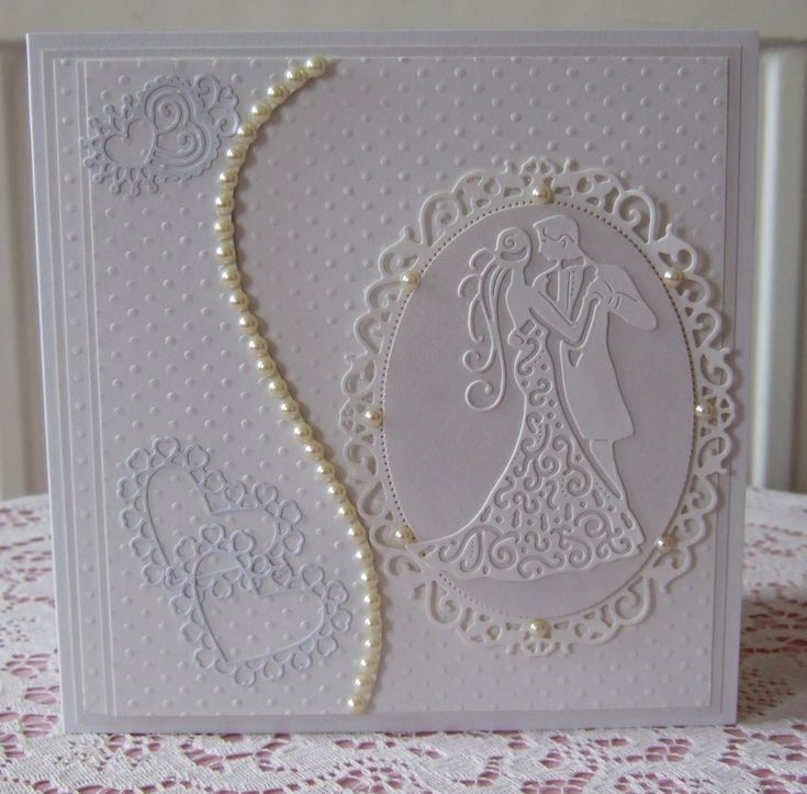 Made using Spellbinders and tattered lace dies and embossing folders.