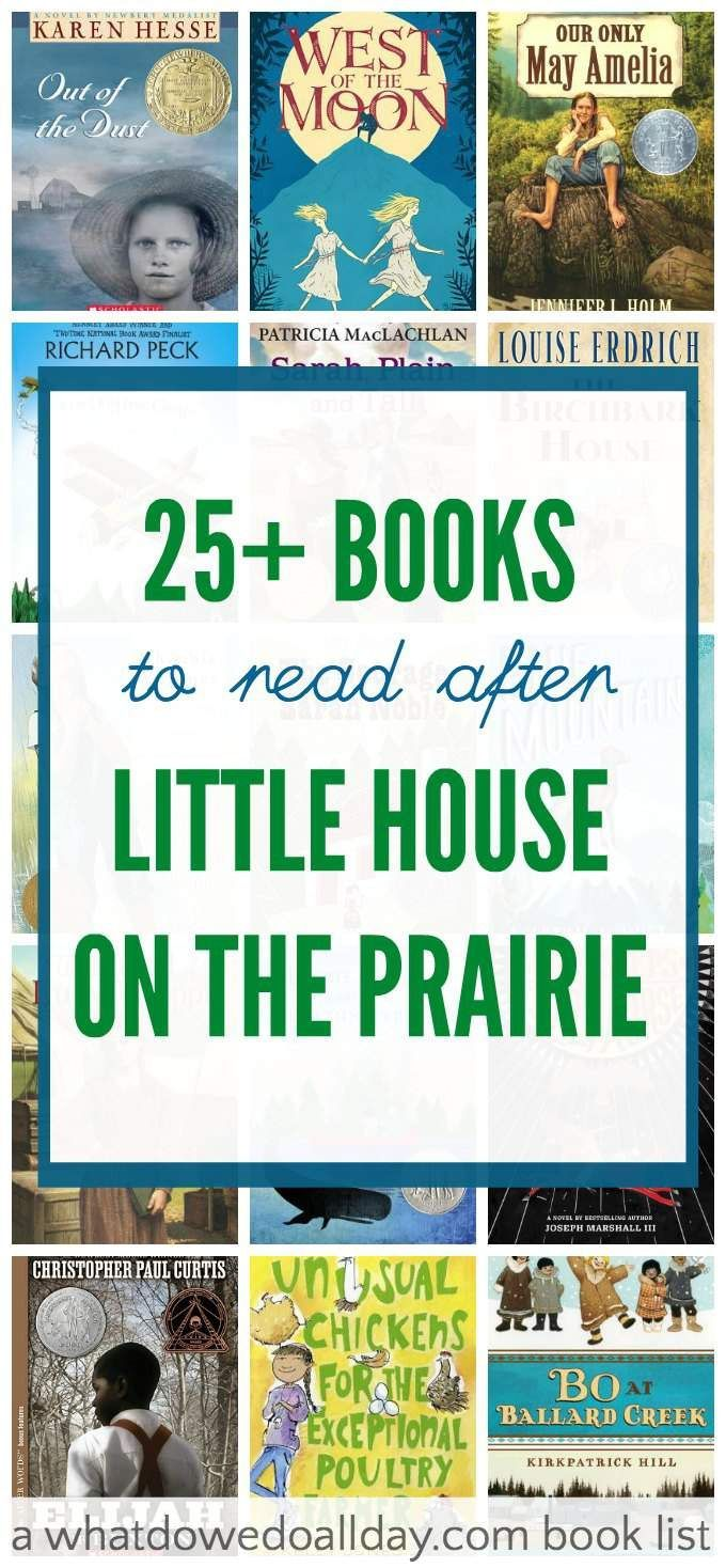 Books For Kids Who Like Little House On The Prairie