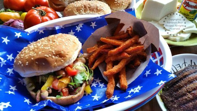 Grilled Portabella Habanero Burgers with El Yucateco Hot Sauces #KingOfFlavor #ad