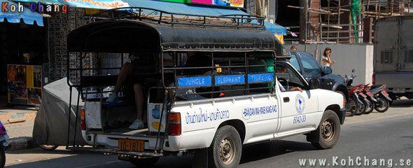Kommunikationer till Koh Chang, Flyg, Buss och Båt, till Paradiset ko Chang, Maak, Kood, Kambodja