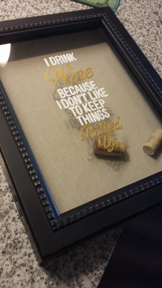 Whether you like to keep the corks from your wine due to sentimental value or just because you like to collect things, finding room for them can gettiresome after a while. You want people to see your impressive collection, but you also don't want wine corks strewn all over your home. With this fun and … Continue reading DIY: Wine Cork Holder →