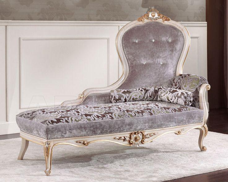 Кушетка темно-серая Morello Gianpaolo 1330/W , каталог мягкой мебели: фото, заказ, доставка - ABITANT ABITANT Москва