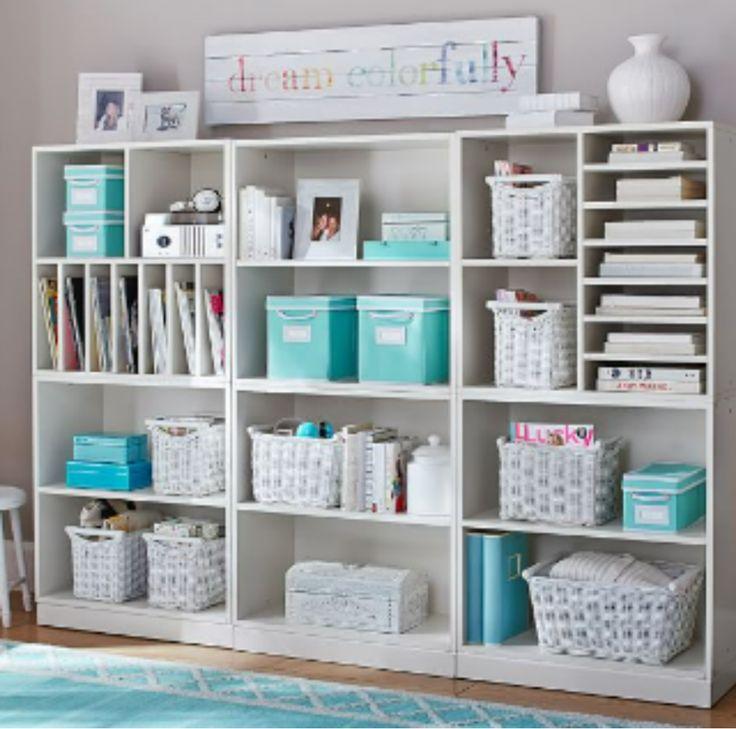 17 best ideas about teen room storage on pinterest teen - Teenage bedroom organization ideas ...