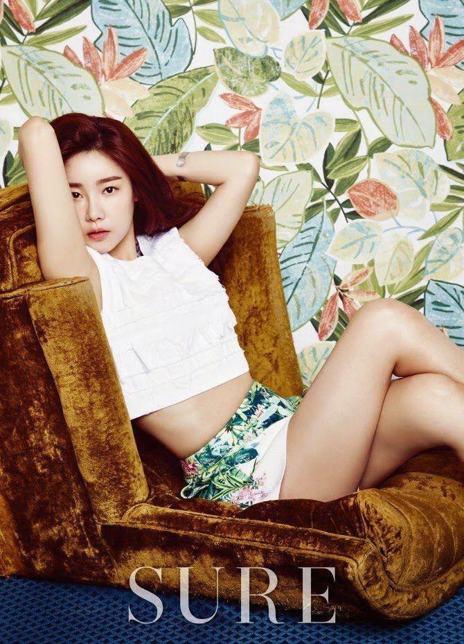 Girls Day Sojin was Featured in Fashion SURE Magazine