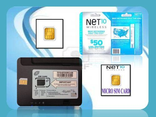 #Micro sim #card Net10 wireless cell phone prepaid 4G sim card new & inactivated work on At&t Tmobile and all unlocked GSM phone Best prepaid cell phone plan