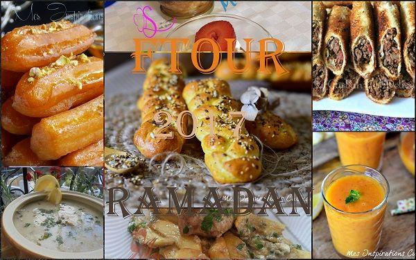 menu ftour ramadan 2017