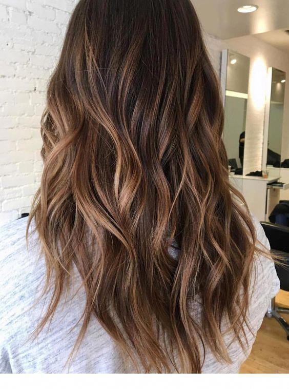 Havana brown hair tone with balayage | Inspiring Ladies #haircolorideasforbrunet…