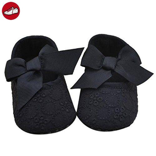 Sannysis Kleine Mädchen Cotton Bandbowknot weichen Boden Blumen-Schuhe (12/6 ~ 12 Monate) - Kinder sneaker und lauflernschuhe (*Partner-Link)