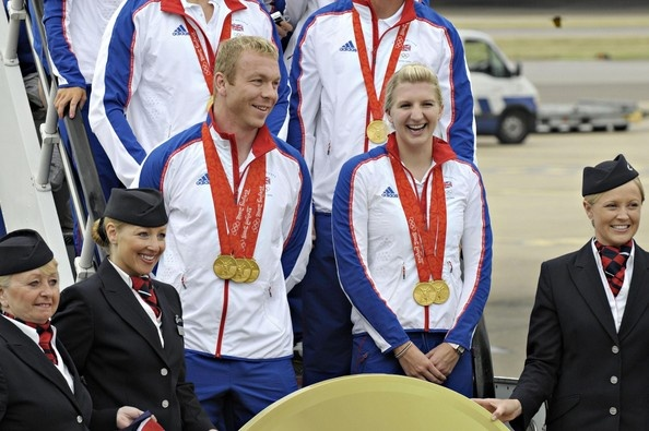 The Great Britain Olympic Team Returning From Beijing
