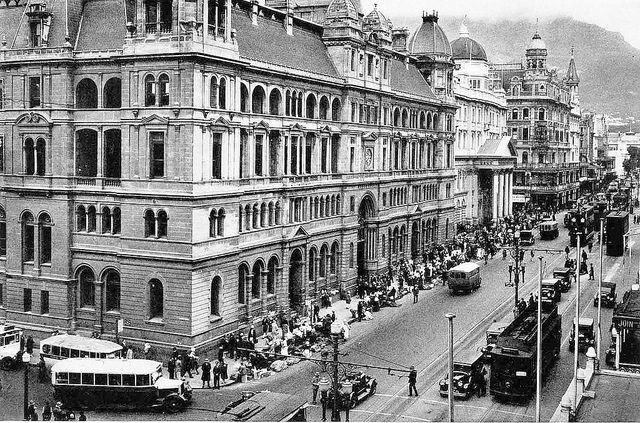 Adderley Street, Cape Town 1915 | Flickr - Photo Sharing!
