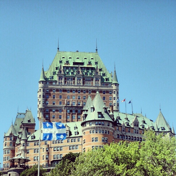 Chateau Frontenac #travel #quebeccity #quebec #canada