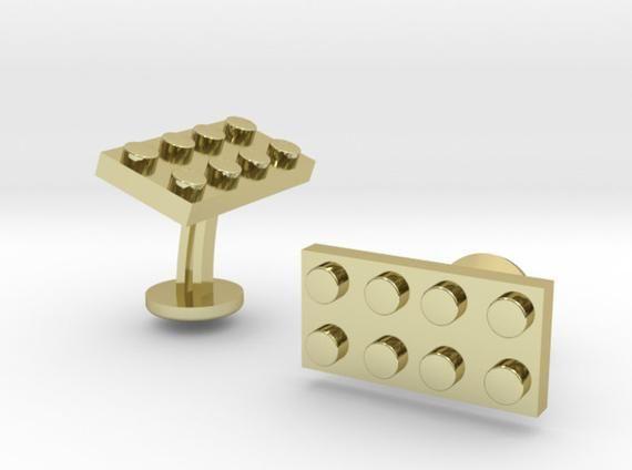 Custom Lego Cufflinks | Personalized Gifts For Him | Keepsake Engraved Cufflinks | Geek Wedding Cufflinks | Groomsmen Gift | Geek Jewelry