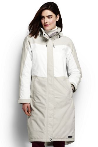 Women's Squall Stadium Coat from Lands' End : another interesting, comfortable pick. Hmmm.