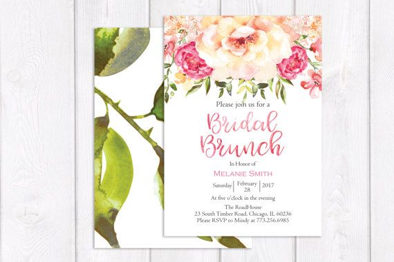 Day After Wedding Brunch Invitation: 17+ Ideas About Brunch Invitations On Pinterest