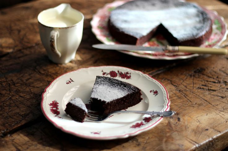 petite kitchen: a decadent raspberry and coconut chocolate torte
