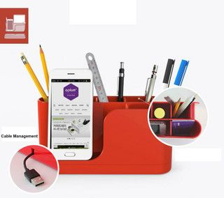 office cubicle accessories. brilliant office cyanics multifunction home office desk cubicle accessory supplies  organizer holder for stationery items smartphone with accessories e