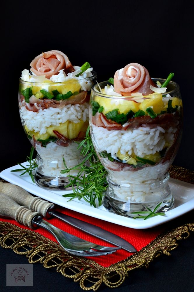 Salata exotica de orez | CAIETUL CU RETETE