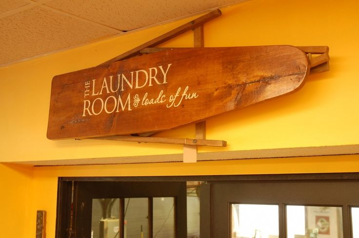 Ironing board sign