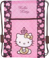 "Сумка для обуви с карманом ""Hello Kitty"" HK13-601-2K, ТМ ""Kite"""