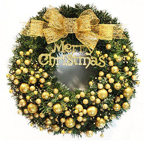 FXTXYMX Special Christmas Decoration Wreath For Home Holi... https://www.amazon.com/dp/B01LWTU04N/ref=cm_sw_r_pi_dp_x_D62dybCXG5QNQ