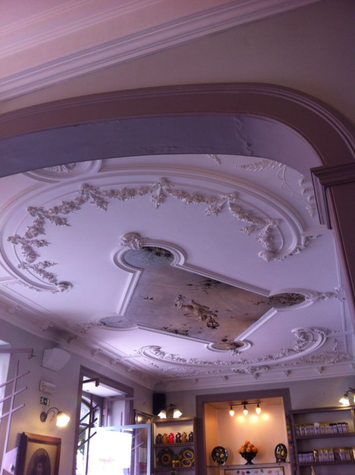 Ceiling of Cafe Saudade, Sintra