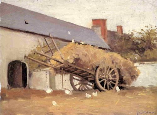 Loaded Haycart - Gustave Caillebotte, 1874-78, private collection