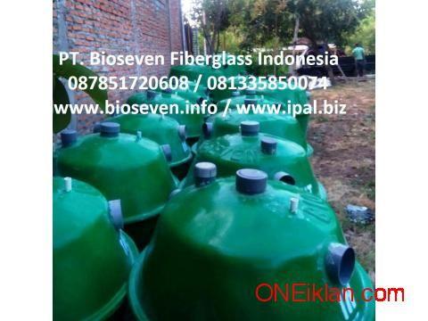 Sepiteng Modern, Septic Tank Biotech, Biofil Hemat Lahan, Tanpa Sedot WC