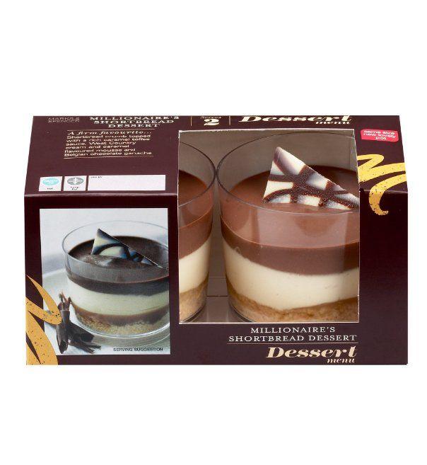 4 Millionaire S Shortbread Dessert Marks Amp Spencer