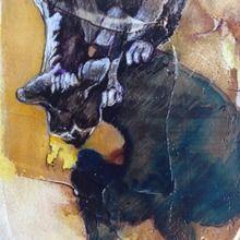 joan martin, shadow sam, mixed media, 15x10cm.jpg